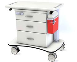 Medviron HA Medical Cart