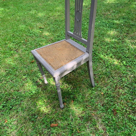 Chaise siège cannage