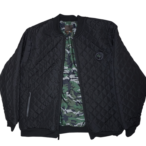 Gi Jacket - Black / Camuflage Inside