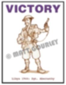Matt Gourley's artwork for Victory
