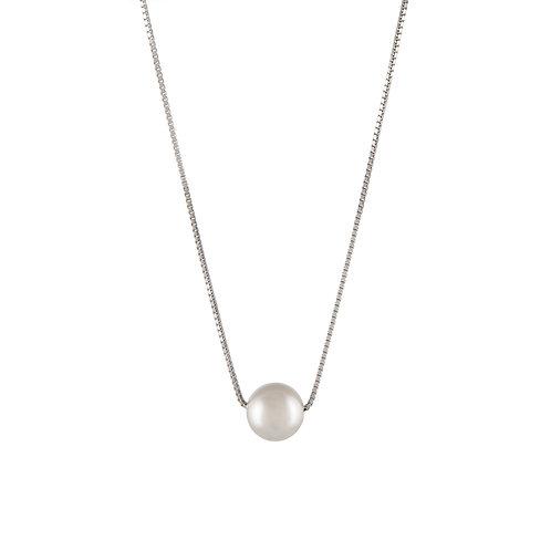 Colar Prata Unike Classy Pearl