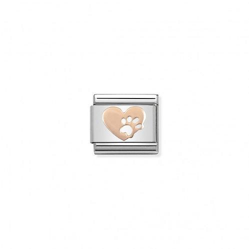 Link Nomination Symbl Heart Footprints