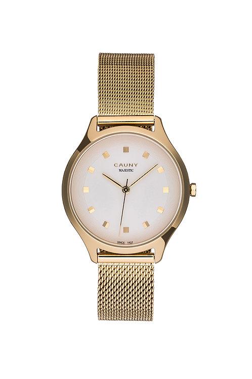 Relógio Cauny Majestic Patterns Dourado