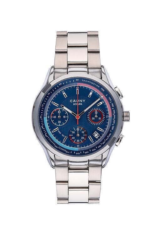 Relógio Cauny Accura Blue Cronógrafo