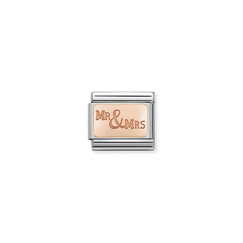 Link Nomination Plates -Mr&Mrs