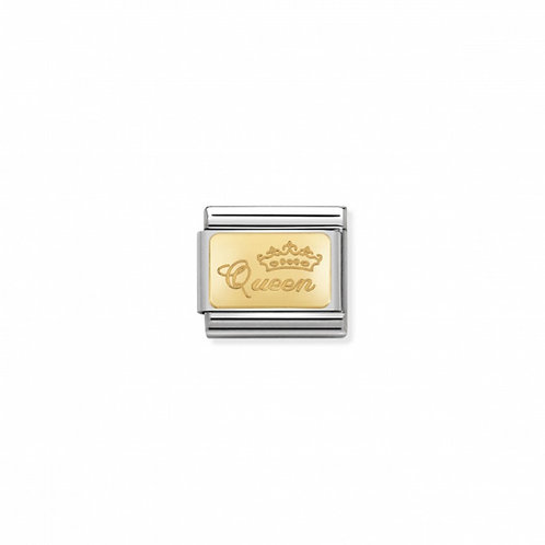 Link Nomination Engraved - Queen