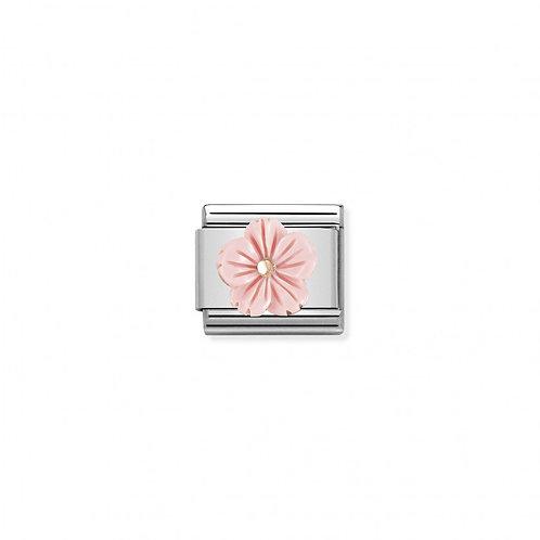 Link Nomination Rose Gold Rose Coral