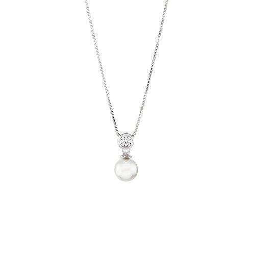 Colar Prata Unike Classy Pearl II