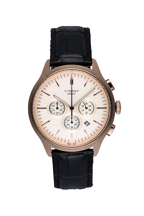 Relógio Cauny Legacy Rose Gold Cronógrafo