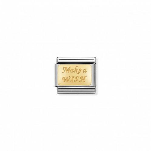 Link Nomination Engraved - Make a Wish