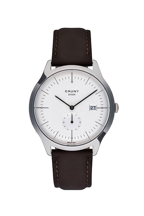 Relógio Cauny Envoy Circles Calendar Prateado
