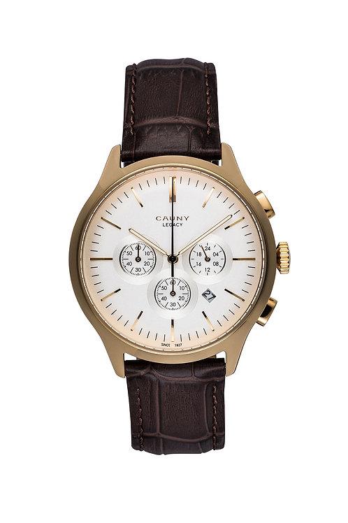 Relógio Cauny Legacy Gold Cronógrafo