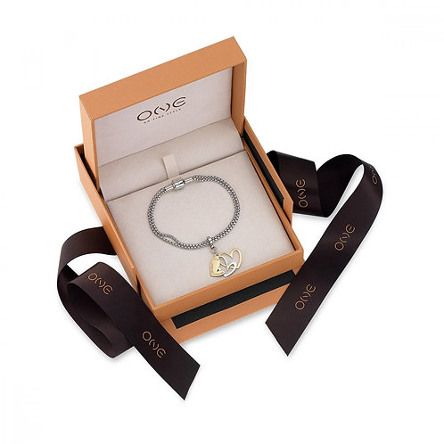 Pack Pulseira e Pendente One Energy Love of Life Time