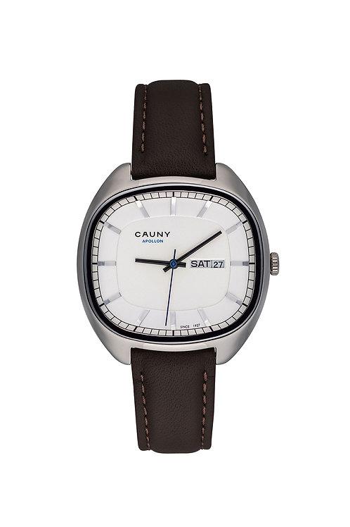 Relógio Cauny Apollon Day Date Silver