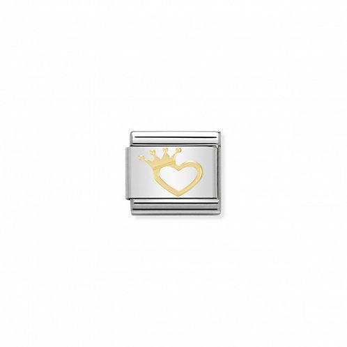 Link Nomination Love Coração com Coroa