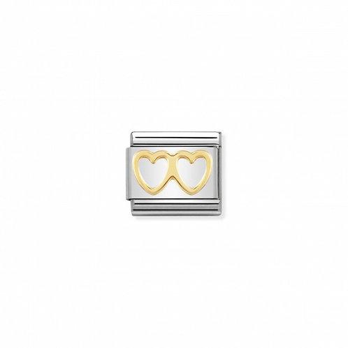 Link Nomination Love Coração Duplo