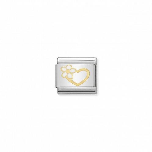 Link Nomination Heart Flower