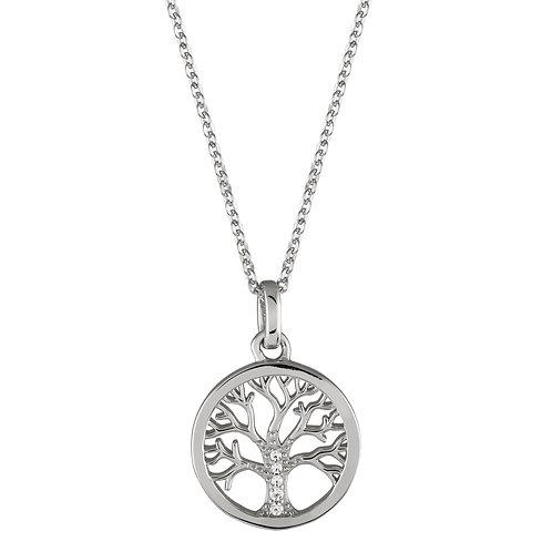 Colar Prata Unike Meaningful Tree of Life