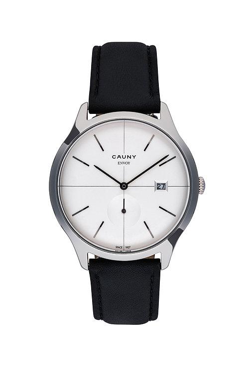 Relógio Cauny Envoy Calendar Prateado