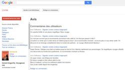 Avis Google Books