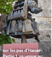 Vidéo sur les pas d'Hanaë, partie 1: Grasse
