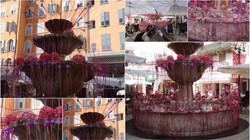 La jolie fontaine du Thouron qu'Hanaë décrit lors d'exporose 2014