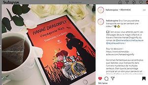 Chronique Instagram Héliotropine 210421