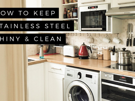 How to Keep Stainless Steel Shiny and Clean