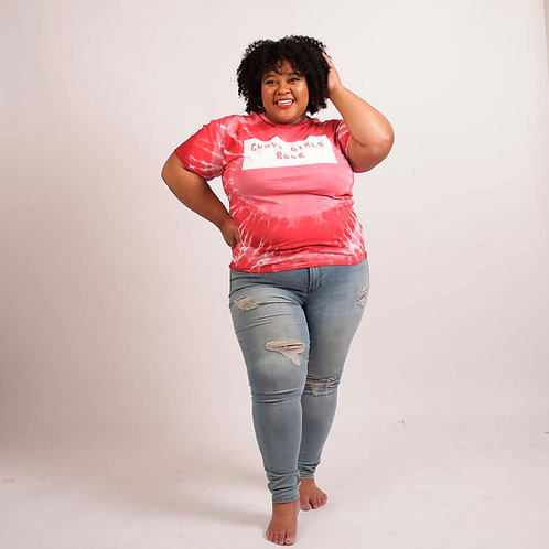 Curvy Girls Rock - Tie Dye Shirt