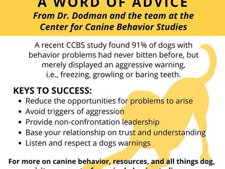 Dog Bite Prevention Week 2020