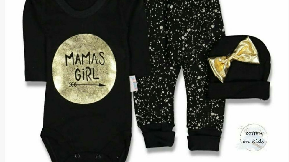 Mamas girl 3 piece outfit