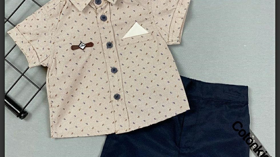 Baby boys shirt and shorts