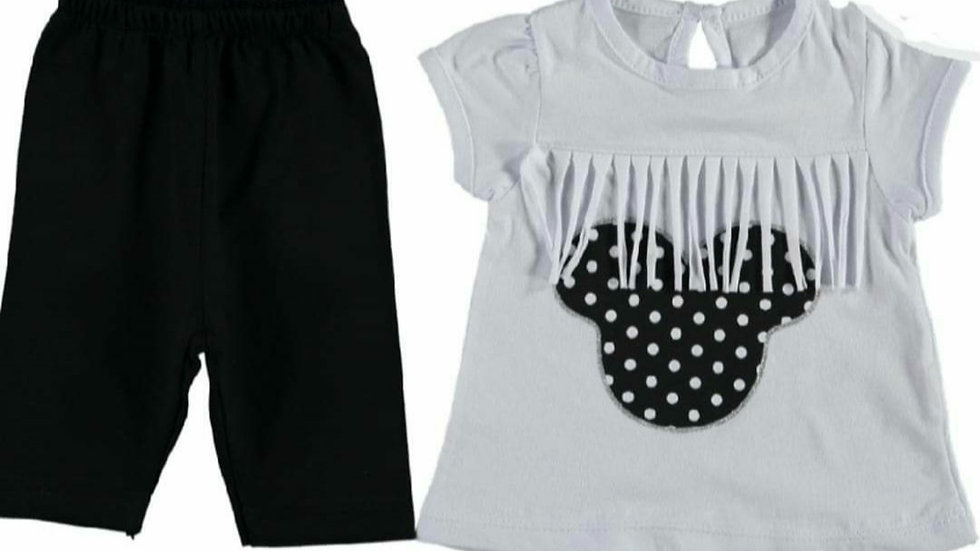 Mini tassels top and leggings outfit 😍