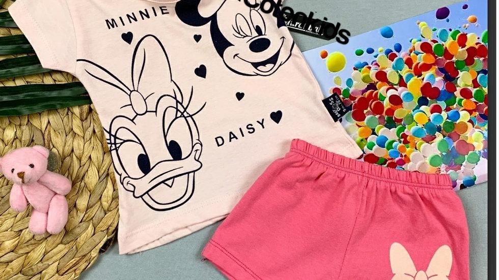 Girls mini daisy top and shorts 😍