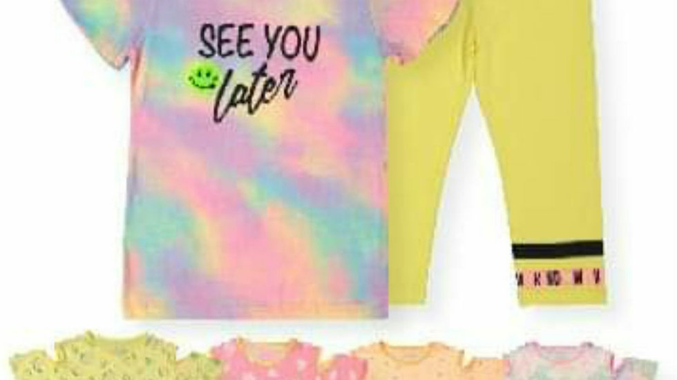See you later leggins and t shirt sets