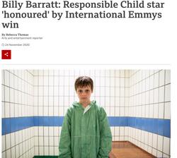 BILLY BARRATT X BBC