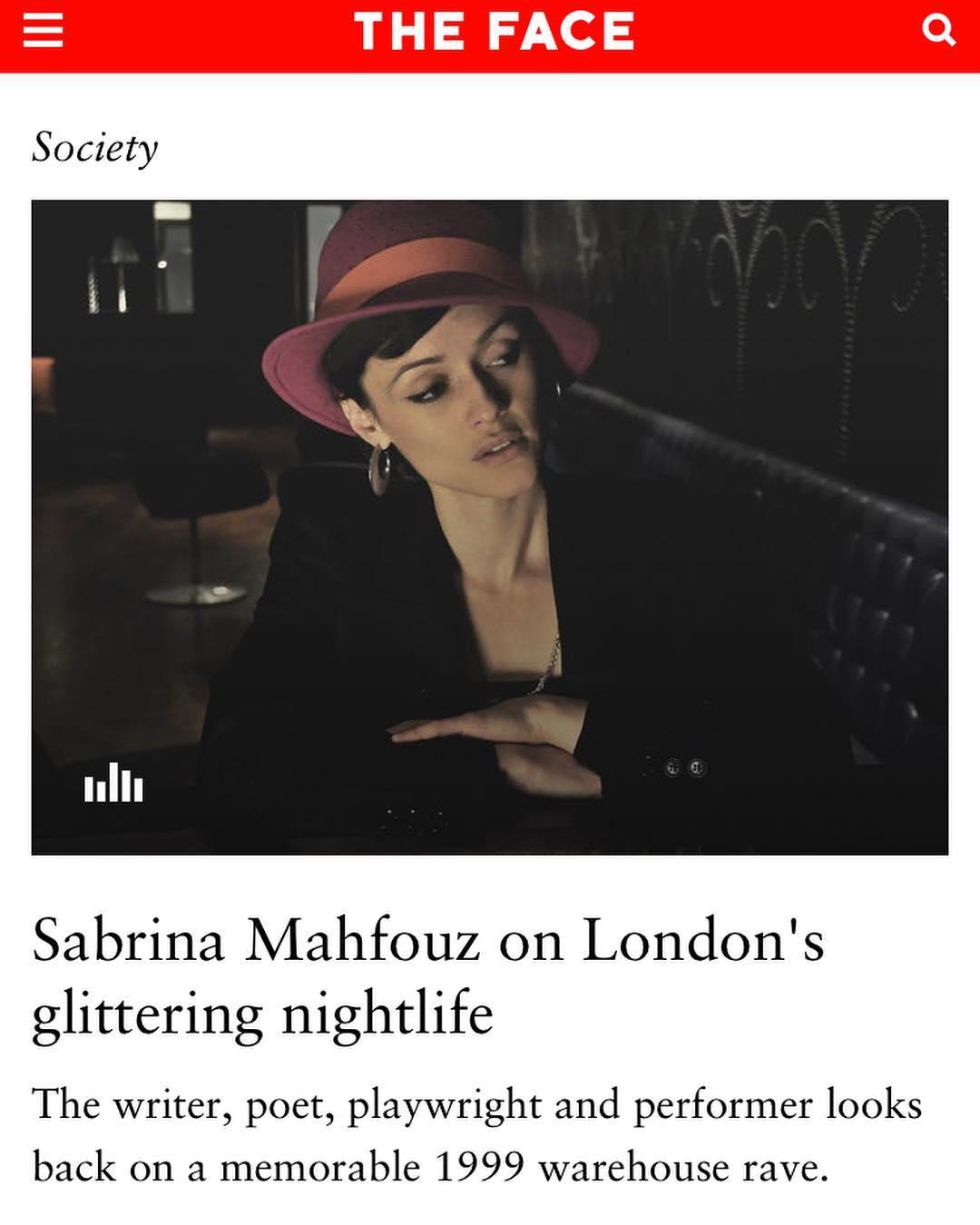 Sabrina Mahfouz X Face Magazine