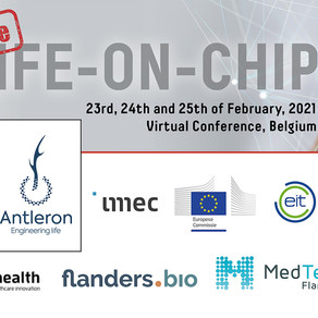Antleron co-organizes 'Life on Chip Conference' in Leuven