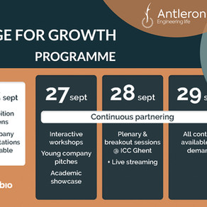 CEO Jan Schrooten moderates 'The Power of Cell & Gene' session on Knowledge for Growth