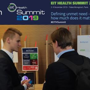 Taking part in the EIT Health Summit in Paris