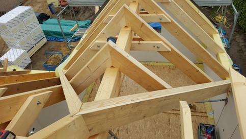 1g dakconstructie houtskeletbouw met KVH