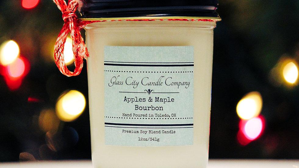 8 oz. Apples & Maple Bourbon Candle