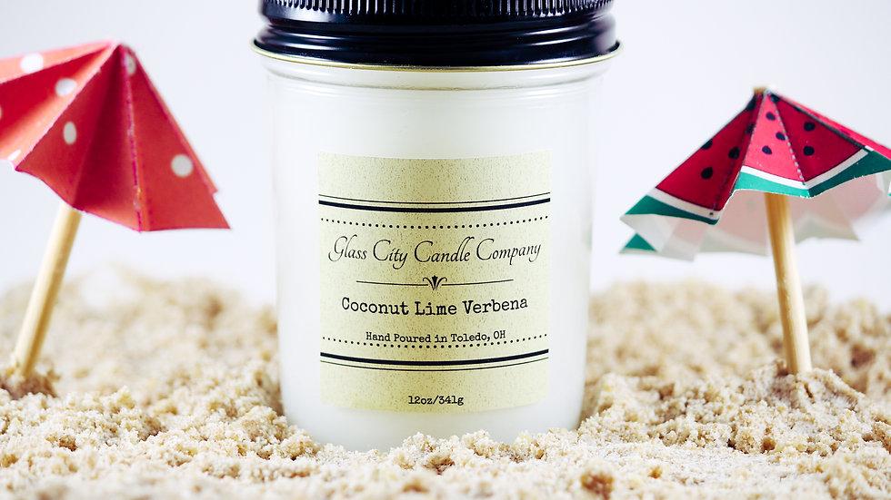 8 oz. Coconut Lime Verbena