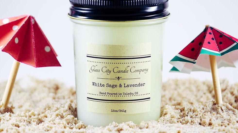 8 oz. White Sage & Lavender