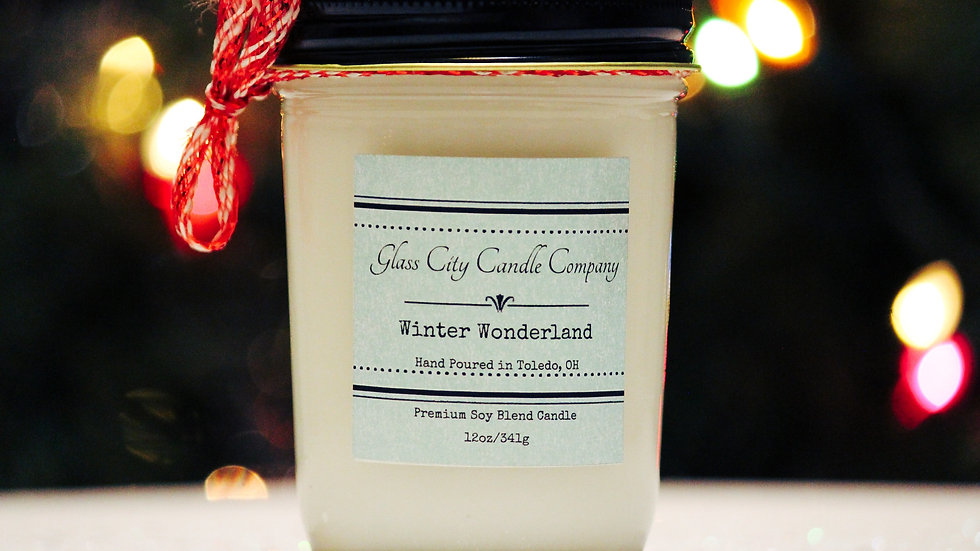 8 oz. Winter Wonderland Candle