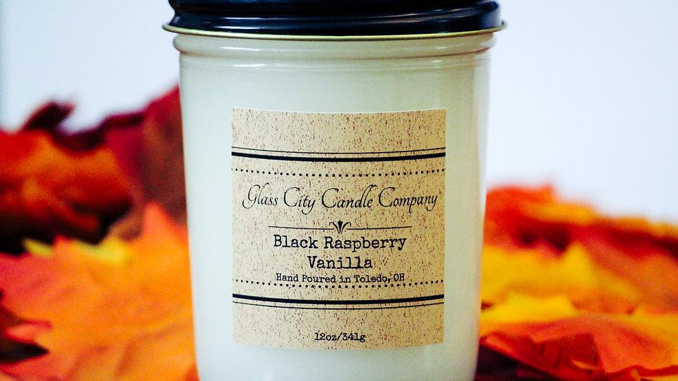 8 oz. Black Raspberry & Vanilla