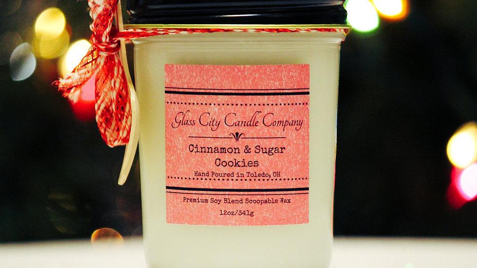 8 oz. Cinnamon & Sugar Cookies Scoopable Wax