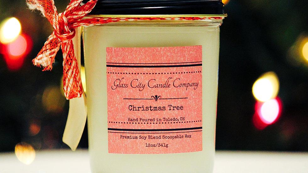 8 oz. Christmas Tree Scoopable Wax