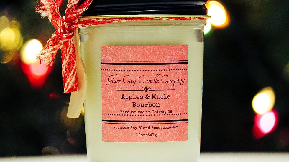 8 oz. Apples & Maple Bourbon Scoopable Wax
