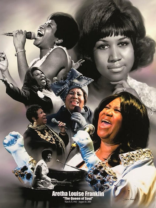 Aretha Louise Franklin/The Queen of Soul